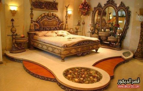 الوان غرف نوم للعرسان فخمة