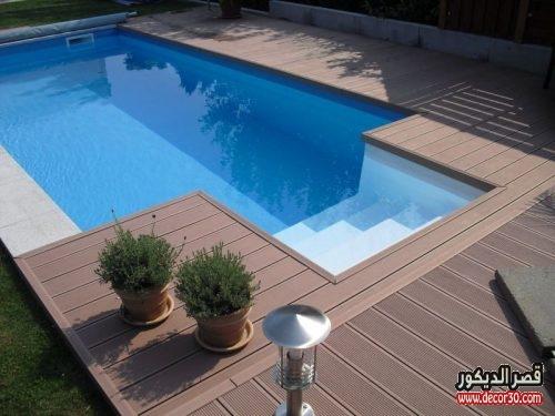 تصاميم حمامات سباحة