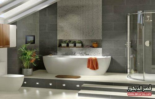 تصاميم سيراميك حمامات كبيرة