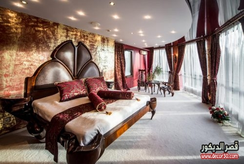 تصاميم غرف نوم فخمه للعرسان