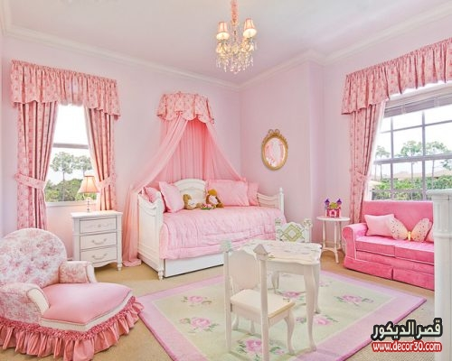 تصميمات غرف نوم بنات