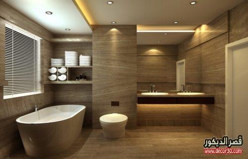 تصميم الحمام الكبير