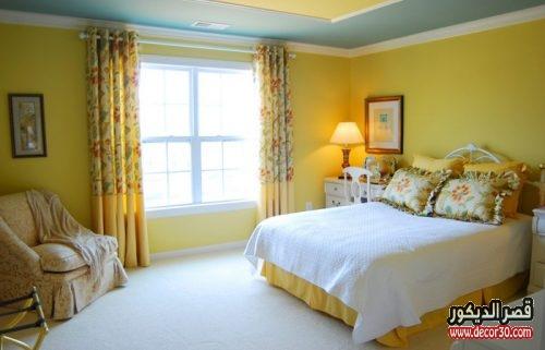 تصميم الوان دهانات غرف النوم الحديثة