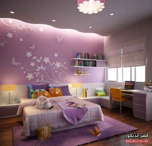 تصميم جبس اسقف غرف نوم اطفال