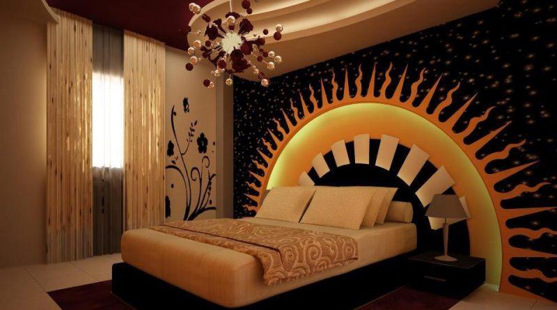 تصميم جبس بورد غرف نوم رومانسية