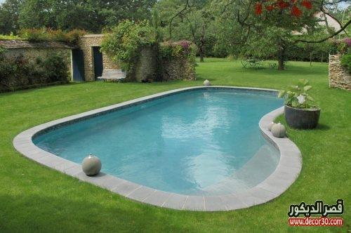 تصميم حمامات سباحة صغيرة