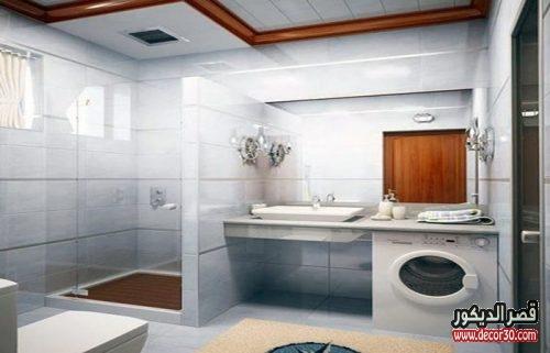 تصميم حمامات منازل صغيرة