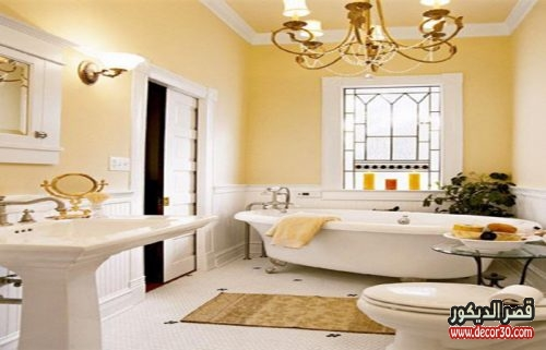 تصميم حمامات منازل