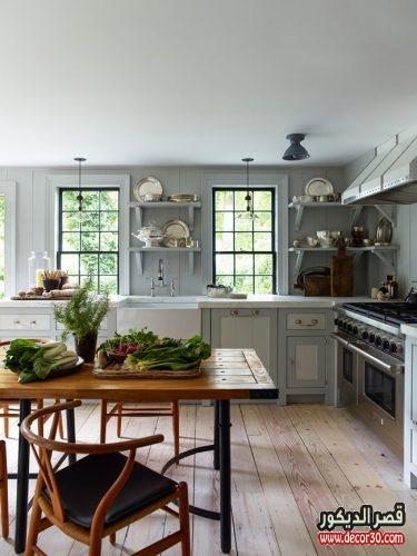 تقسيمات المطبخ من الداخل