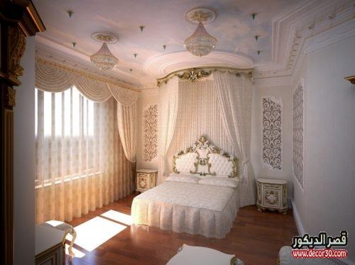 جبس بورد لغرف نوم للعرسان