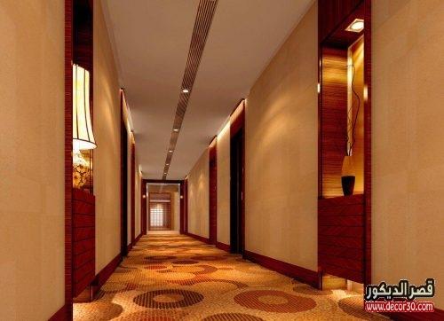 جبس ممرات فنادق خشبية