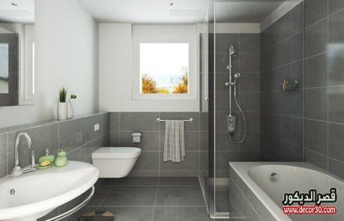 حمامات صغيرة مودرن وبسيط