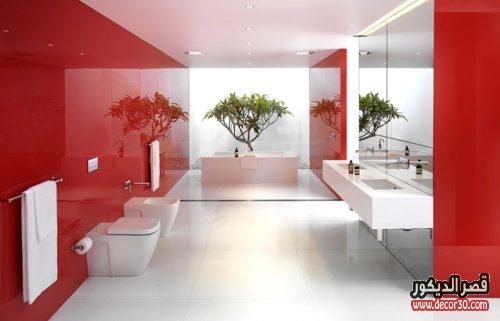 حمامات كبيرة مودرن
