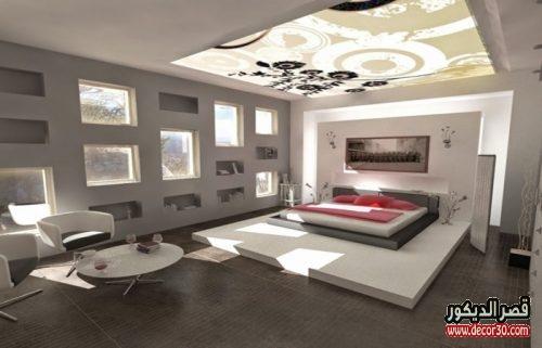 ديكورات الوان دهانات غرف النوم الحديثة