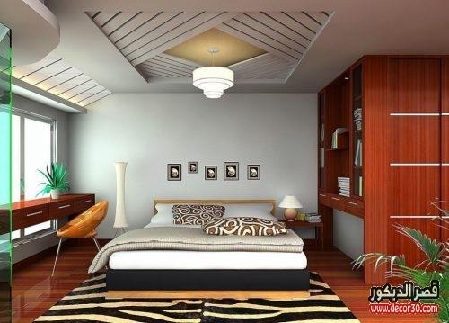ديكورات جبس غرف نوم بسيطة
