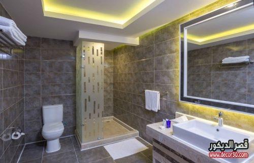 ديكورات حمامات صغيرة مصرية