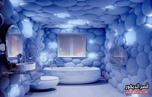 ديكورات حمامات غريب