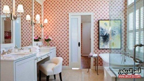 تصاميم ديكورات حمامات بسيطة