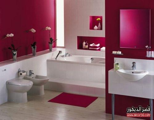 ديكورات حمامات بسيطة 2018