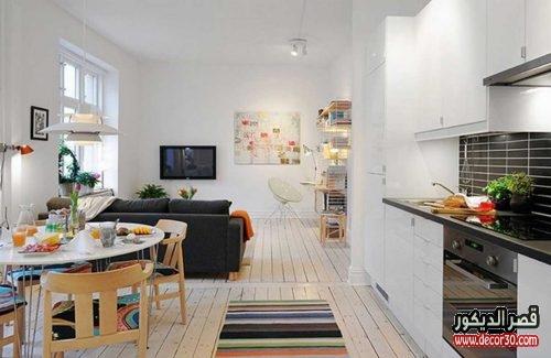 ديكورات داخلية للمنازل الصغيرة