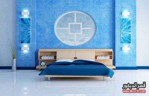 ديكورات دهانات غرف النوم الحديثة