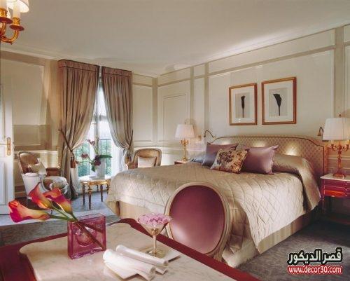 ديكورات غرف النوم الرئيسية