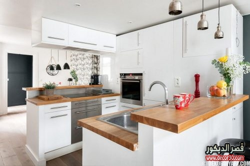 ديكورات مطبخ صغير