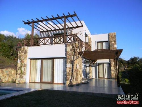 ديكورات منازل تركية من الخارج بسيطة