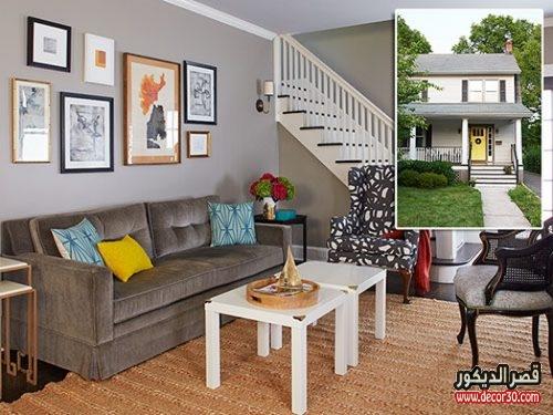 ديكورات منازل صغيرة من الداخل توحي بالأناقة وتعطي مساحة بالإتساع