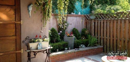 ديكور الحدائق المنزلية الصغيرة