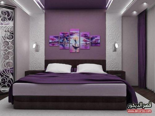 ديكور جبس غرف نوم للعرسان