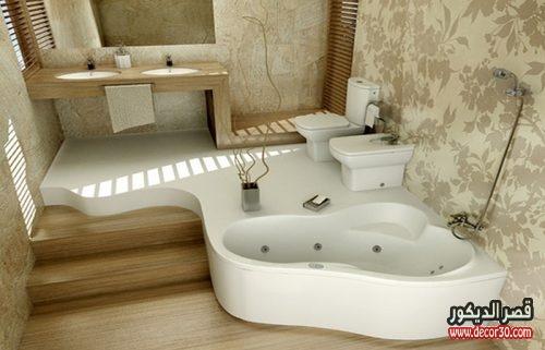 ديكور حمامات منازل حديث