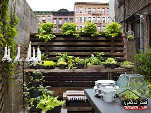 Amazing 30 Small Garden Ideas & Designs For Small Spaces | Hgtv And also Terrace Garden Design Ideas And Tips