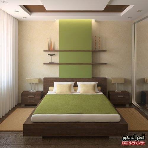 صور جبس لغرف النوم البسيطة