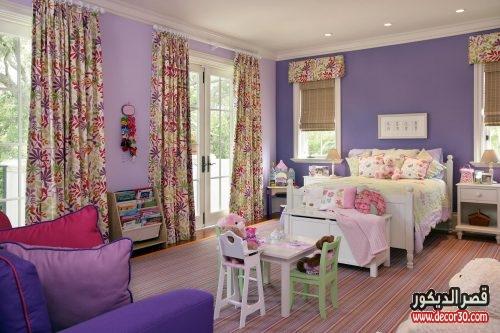 غرفة نوم بناتي أطفال