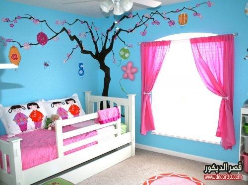 غرف اطفال مبهجة