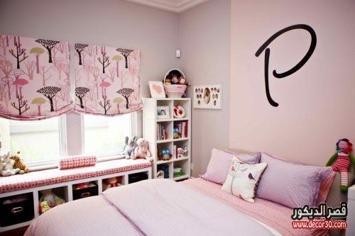 غرف بناتي رقيقة