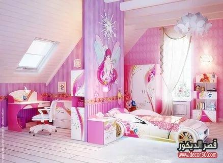 غرف بنات أطفال