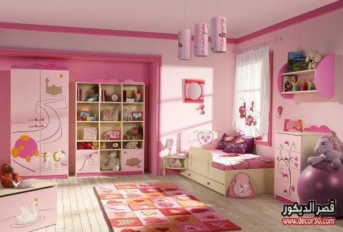 غرف نوم بنات اطفال