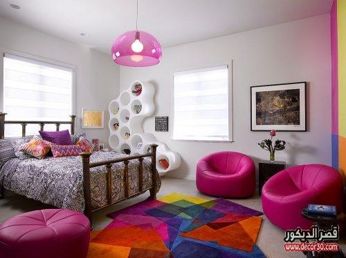 غرف نوم بنات بسيطة