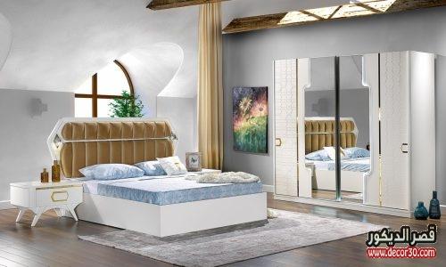 غرف نوم خشب للعرسان مودرن