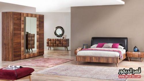 غرف نوم خشب للعرسان