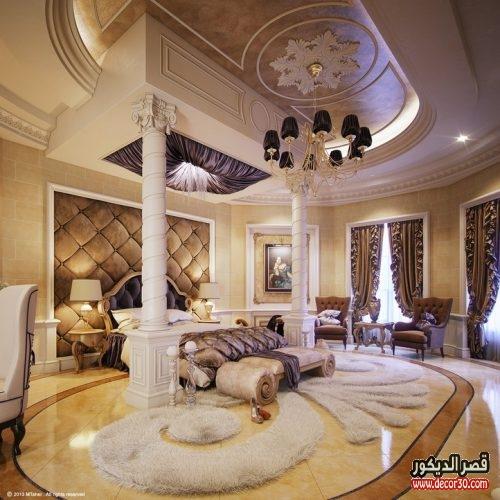 غرف نوم راقيه