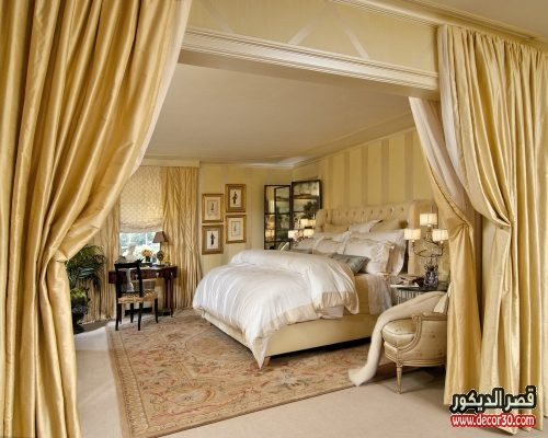 غرف نوم فخمه للعرسان