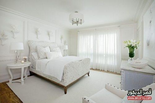 غرف نوم مودرن كاملة بالدولاب 2018
