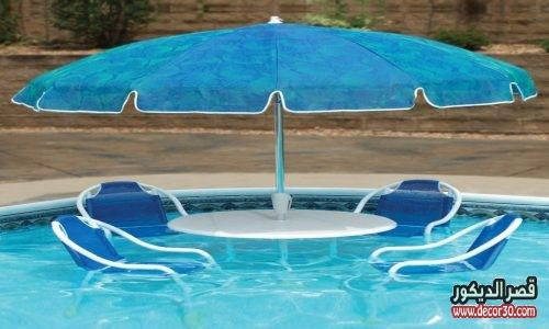فكرة لحمام السباحة