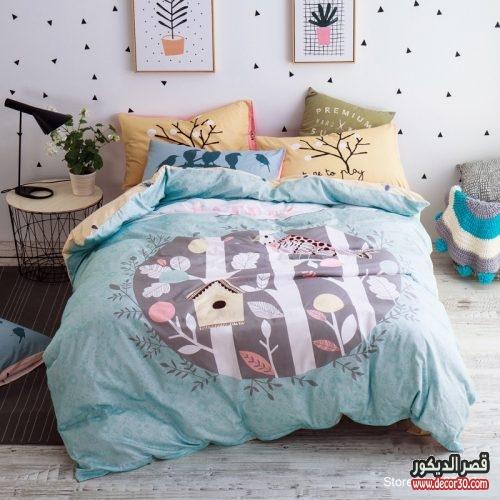 مفارش سرير اطفال من ايكيا