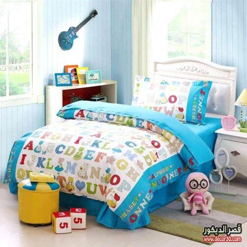 مفرش سرير اطفال مودرن