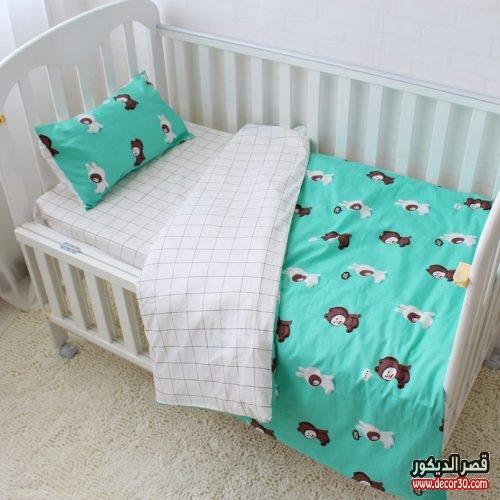 مفرش سرير اطفال مواليد
