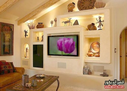 Gypsum Board TV Wall